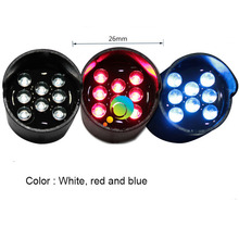 Yellow red blue LED light pixel cluster 26mm truck mounted board parts mini traffic light