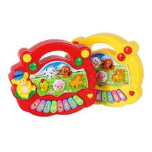 Music Musical Developmental Animal Farm Piano Sound Toy Musical Instrument Educational Toy For Baby Kids(China)