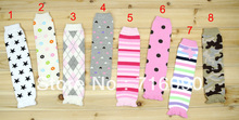 wholesale baby legging socks 5 pairs/lot children leg warmers knee pad 8 style dr0004-26 free shipping(China)