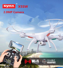 Buy SYMA X5SW WIFI RC Drone fpv Quadcopter Camera Headless 2.4G 6-Axis Real Time RC Helicopter Quad copter Toys for $60.90 in AliExpress store