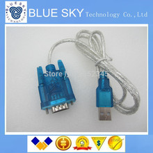 new!HL-340 New USB to RS232 COM Port Serial PDA 9 pin DB9 Cable Adapter support Windows7-64