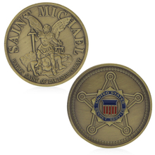 United States Secret Service Saint Michael Commemorative Challenge Coin Art Gift APR26