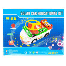 Teacher Wang W-88 New Creative Solar Car Educational Kit, 88 in 1,Child Toy Vehicles, Kid Assemble Solar and Electric Power Toys