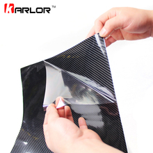 40CMx200CM High Glossy 5D Carbon Fiber Wrapping Vinyl Film Car Scratch Repair Motorcycle Tablet Stickers Car Styling Accessories(China)