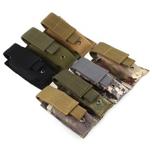 Buy Outdoor Hiking Camping Molle Tactical MOLLE PALS Dump Radio Pouch Flashlight Bag Small Mini Belt Pack Interphone Case for $2.73 in AliExpress store