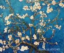 artwork of Vincent Van Gogh Branches of an Almond Tree in Blossom modern paintings oil reproduction handmde High Quality