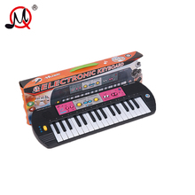 32 keys kid's musical toys musical instrument keyboard battery with radio function portable electronic organ toys for children
