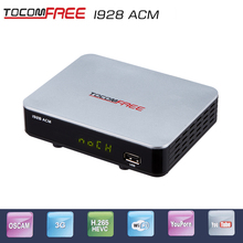 2017 ACM support satellite TV receiver Tocomfree I928ACM with wifi antenna IKS work for south America