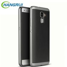 Honor 8 Cases For Huawei Honor 7 Case Silicone TPU+PC Frame Hybrid Back Cover Fundas for Huawei Honor 7 / 8 / V8 / 6X Phone Bag
