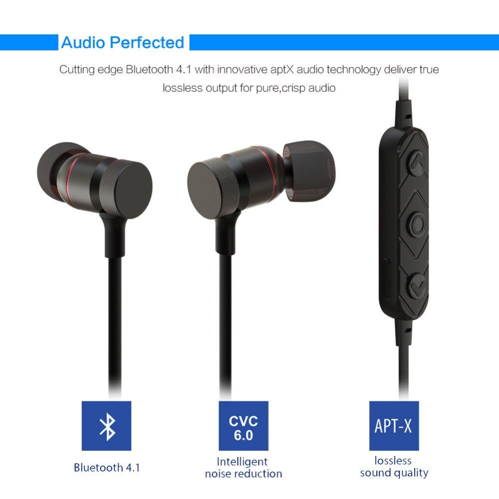 LUOKA HT9 Wireless Headphone Bluetooth Earphone Sweatproof Stereo For Phone Neckband Ecouteur Auriculares Bluetooth V4.2 Headset