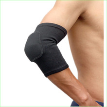 2 Pieces Sponge Sport Elbow Pads Brace Basketball Volleyball Badminton Tennis Arm Protector Band