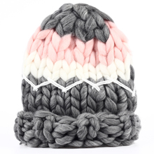 VORON 2017 Branded women knitted Caps woolen cotton for autumn winter hats elastic Gorro Cap high-end Big Bone Cute casual hats(China)
