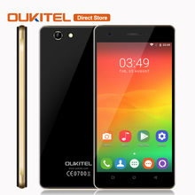 OUKITEL C4 Mobile Phone Android 6.0 MTK6737 Quad Core Cell Phone 1GB +8GB 5MP+8MP 5.0 Inches 1280*720 Px 4G Lte Smartphone