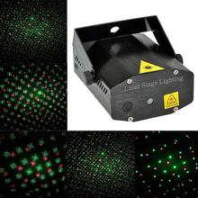 New Posh Mini Projector R&G DJ Disco Light Stage Christmas Party led Laser Lighting Show dmx colorful
