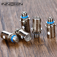 5pcs Innokin iSub SS BVC Coil 0.5ohm Organic Cotton Stainless Steel Evaporizer for iSub/iSub V Tank 30-60W Electronic Cigarette(China)