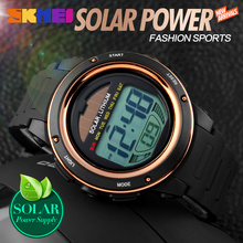 Solar Power Watch Men Sports Digital Watches 2016 Relogio Masculino Waterproof Wristwatch Relojes Homme Horloges Mannen