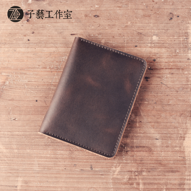 2017 new driving license, driving license set manual LEATHER HOLSTER retro Crazy Horse clip license this License for men and<br><br>Aliexpress
