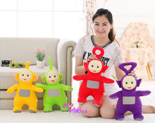 4 pieces a lot middle creative lovely Teletubbies toys plush different dolls gift about 35cm(China)