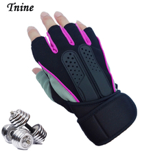 Best Price Fashion Gloves & Mittens Anti-skid Exercise Weight Lifting Bodybuilding Gloves Fitness for Men & Women Guantes Gloves(China)