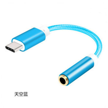 New Convenient USB Type-C to 3.5 mm Audio Speaker Female Earphone Cable Adapter Cheap Price Wholesale