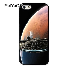 MaiYaCa new Star Wars Hans Solo Millenium Falcon fashion soft mobile cell Phone Case Cover For iPhone 6 6S Custom DIY cases(China)