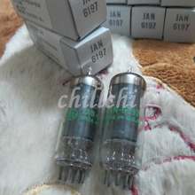 The United States GE 6197 JAN new in original box (small power tube 5 level diode direct generation 6CL6(China)