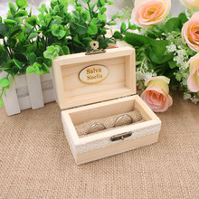Buy Personalized Rustic Ring Bearer Box, Custom Wedding Ring Box, Rustic Wedding Ring Bearer Pillow Box, Engraved Wooden Ring Box1 for $8.54 in AliExpress store