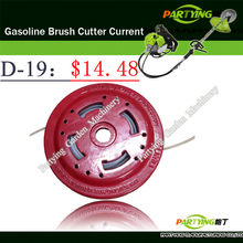 Free Shipping buy 3 get 1 free petrol lawn mower trimmer 2-stroke brush cutter head grass cutting machine gasoline plastic D-19(China)