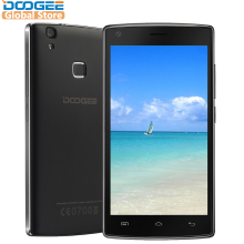 DOOGEE X5 Max pro Fingerprint mobile phones 5.0Inch HD Android6.0 Dual SIM MTK6737 Quad Core 4000mAH WCDMA LTE GPS(China)