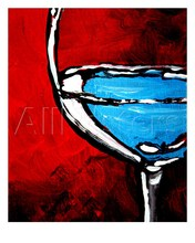 Modern abstract Art Fine Wine Still Life oil painting on canvas  High quality hand painted Room Decoration