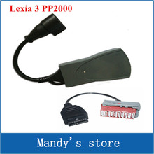 Newest Universal PPS2000 lexia 3 diagnostic tool PP2000 Lexia3 with 30pin cable Diagbox 7.24 now!!!