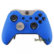 Front Shell Faceplate Cover for Xbox One Elite Controller Soft Touch Blue Design(China)