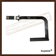 "Original 100% Working 821-0791 A1297 Hard Disk Ribbon Flex Cable 17"" For Apple MacBook Pro Replacement Laptop Parts Grade AA+(China)"