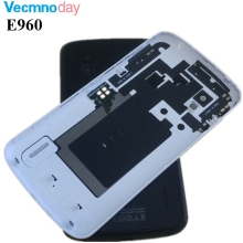 Buy Vecmnoday 1Pcs LG Google Nexus 4 E960 New Back Glass Battery Cover Housing Door NFC Connector Replacement Parts for $9.99 in AliExpress store