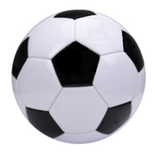 Classic Black White Standard Size 5 Soccer Ball PVC Football For Training&Match 2017 Football Ball Machine Sewn