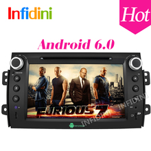 Android 6.0 for Suzuki SX4 car dvd gps radio bluetooth SWC 3G wifi gps navigation car radio video audio player car stereo 2 din