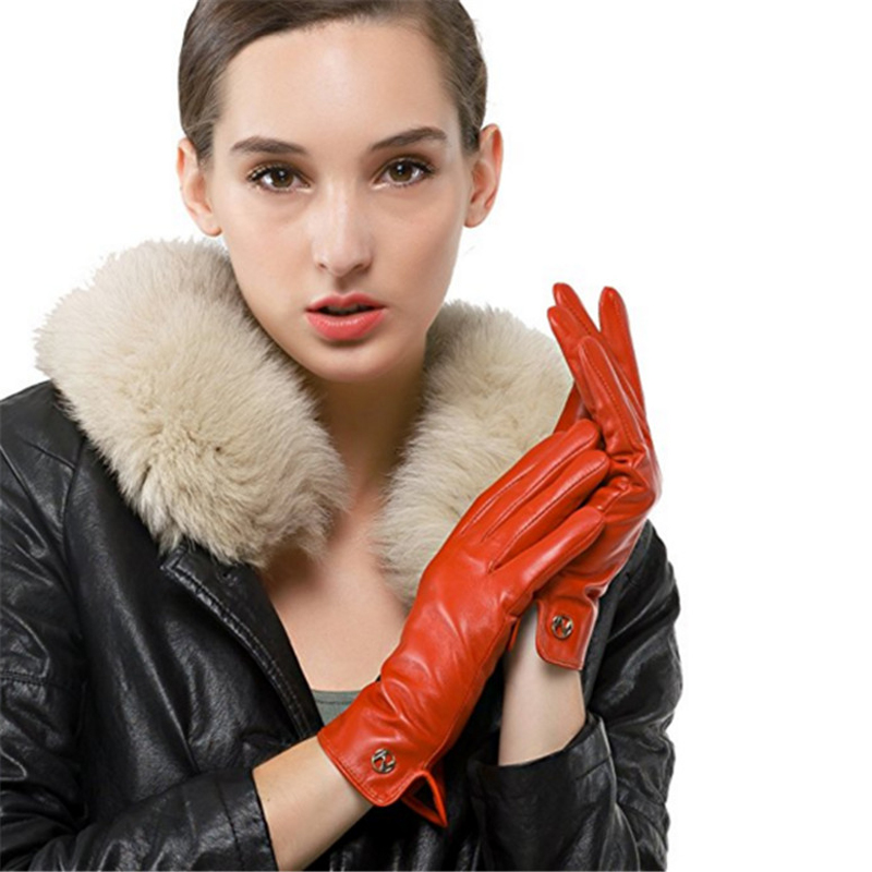 Women-Classical-Colorful-Leather-Gloves