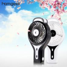 Homgeek Portable Mini Fan Rechargeable USB Fans Mini Air Conditioner 18650 Li-ion Battery Quiet Air Cooler Home Electric Fans