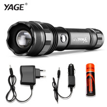 YAGE Rotate-zoom Flashlight High-quality LED Flashlight Torch Waterproof led torch for 18650 linternas lampe torche zaklamp 320B