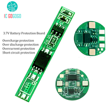 5pcs MOS 2A 4A 18650 Battery Protection Board 3.7V Lithium Polymer High Current Charge Discharge Protect Circuit BMS/PCM/PCB