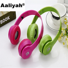 [Aaliyah] New Arriving 3.5mm Beautiful Earphone Pink Headset Dj Headphone For Girls Kids With Mic High Quality