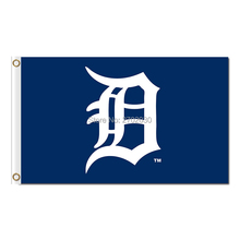 Blue Detroit Tigers Flag Baseball Super Fan Team Banners Major League Flags World Series Champions Banner 3x5ft Champion custom(China)