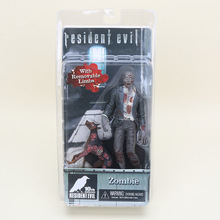 Classic Movie Game NECA Resident Evil 10th Anniversary Zombie Dog Zombie High Quality Action Figure Toys 7""