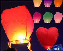 Wholesale 500pcs/lot SKY Balloon Kongming wishing Lanterns,Flying Light Halloween Chinese Lantern Free shipping