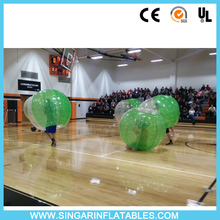 Free shipping 0.7mm TPU 1.8m diameter bubble soccer,bumper ballz,inflatable bouncy ball,bubble ball for big heavy players