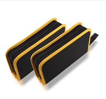 SEARS tool pouch 600-D polyester material bag electrician canvas tool bag black and yellow Free Shipping 61012(China)