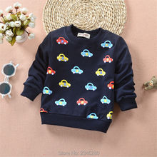 T-Shirts For Baby Boys Sweater Cartoon Print Girls 2017 New Tee Shirts T Shirt Child Tops Kids Clothes Super Cheap Clothing