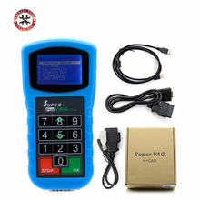 2017 Newest Super VAG K+CAN Plus 2.0 Diagnosis + Mileage Correction + Pin Code Reader SuperVAG K+CAN Plus Free Shipping