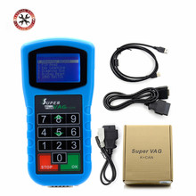 2017 Newest Super VAG K+CAN Plus 2.0 Diagnosis + Mileage Correction + Pin Code Reader SuperVAG K+CAN Plus Free Shipping(China)