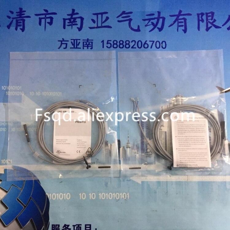 SME-8M-DS-24V-K-2,5-OE 543862 FESTO pneumatics Magnetic Induction switch  Sensor<br>